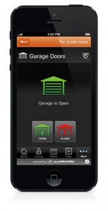 Home Automation Garage Door Control